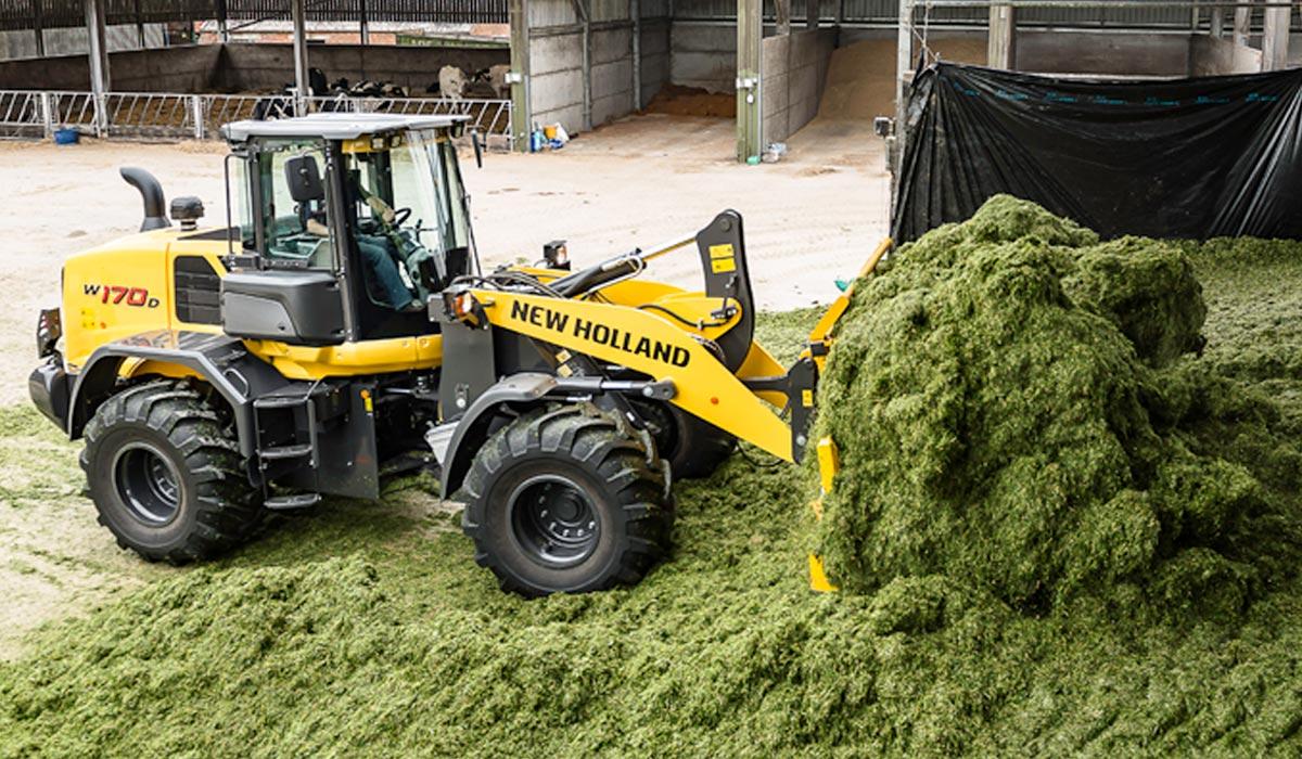New Holland Construction - Hjullæsser