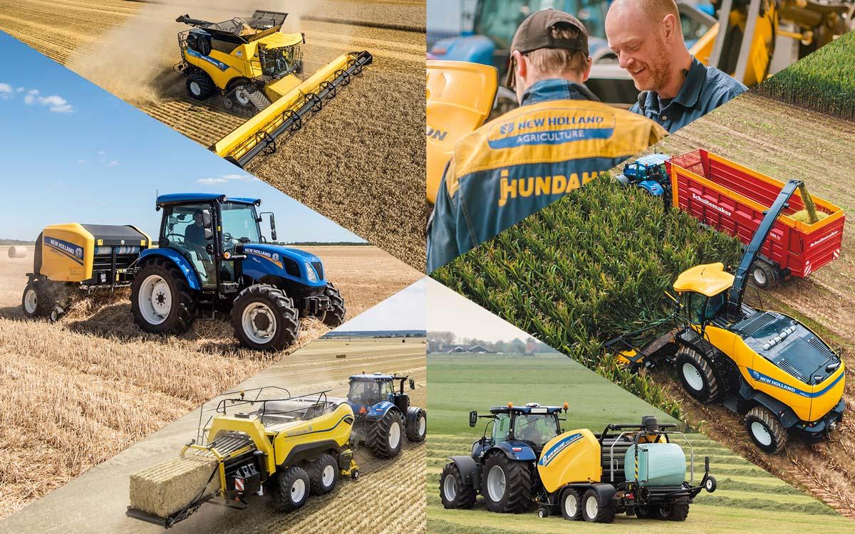 Service af høstmaskiner